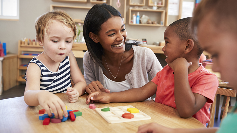 Safeguarding professional in a nursery