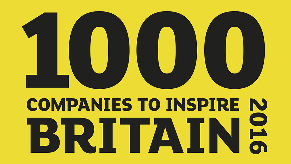 1000 companies to inspire