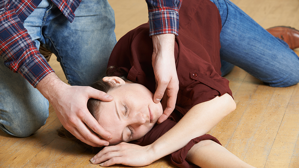 How to put someone in the recovery position