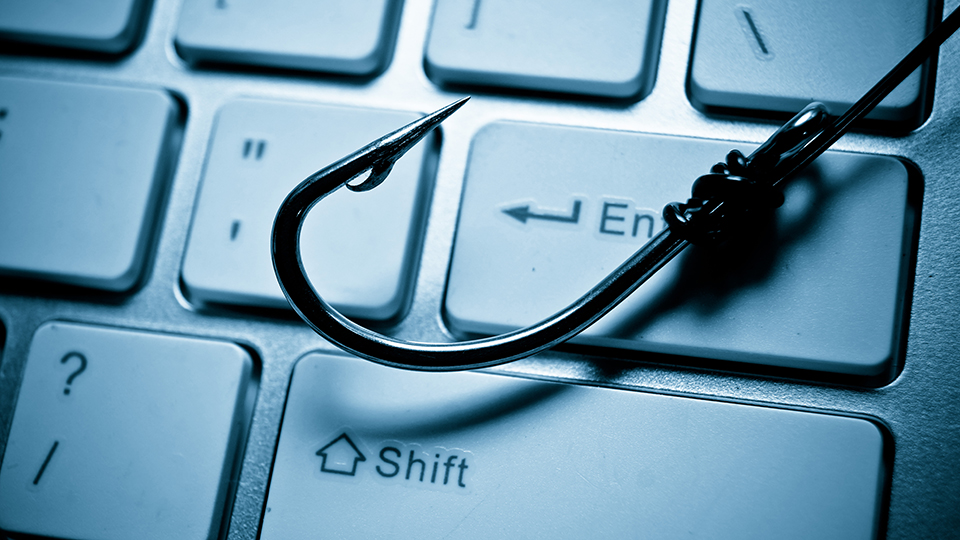 Identifying email phishing scams