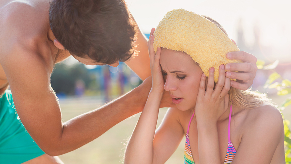 Treating heat exhaustion and heat stroke