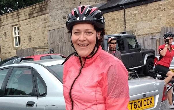 Fiona charity bike ride