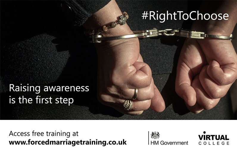Forced marriage awareness training