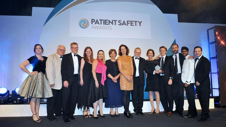Virtual College announce winner at Patient Safety Awards