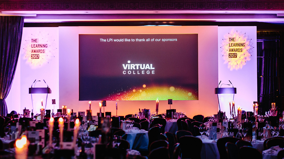 Virtual College triumphs at Learning and Performance Institutes 2017 Learning Awards