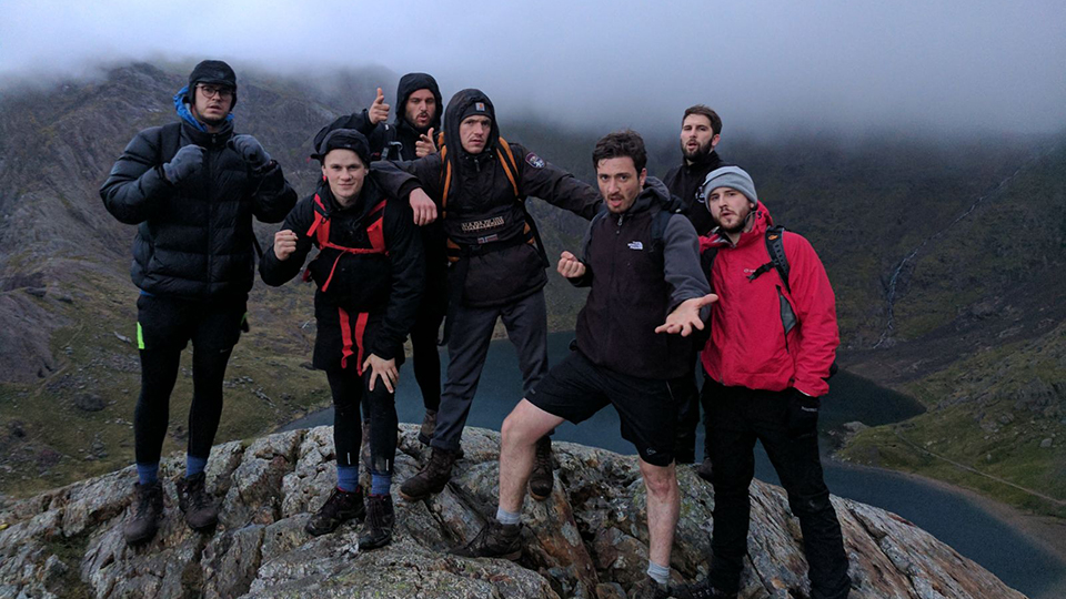 Tom completes gruelling National Three Peaks Challenge in under 24 hours