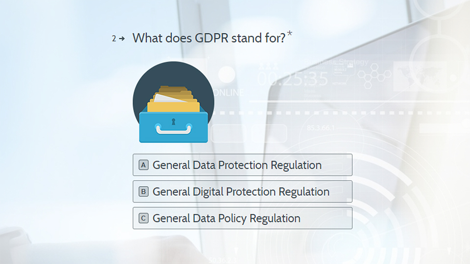 Virtual College GDPR quiz