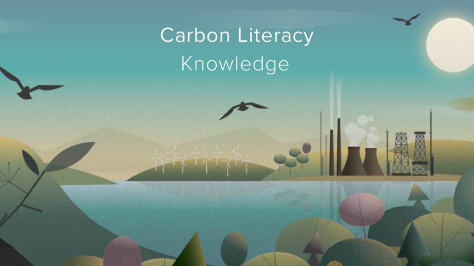Carbon Literacy Knowledge screen 1