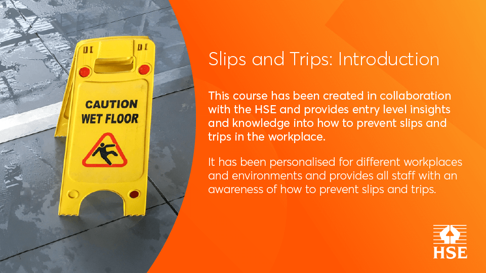 Slips and Trips - Beginners