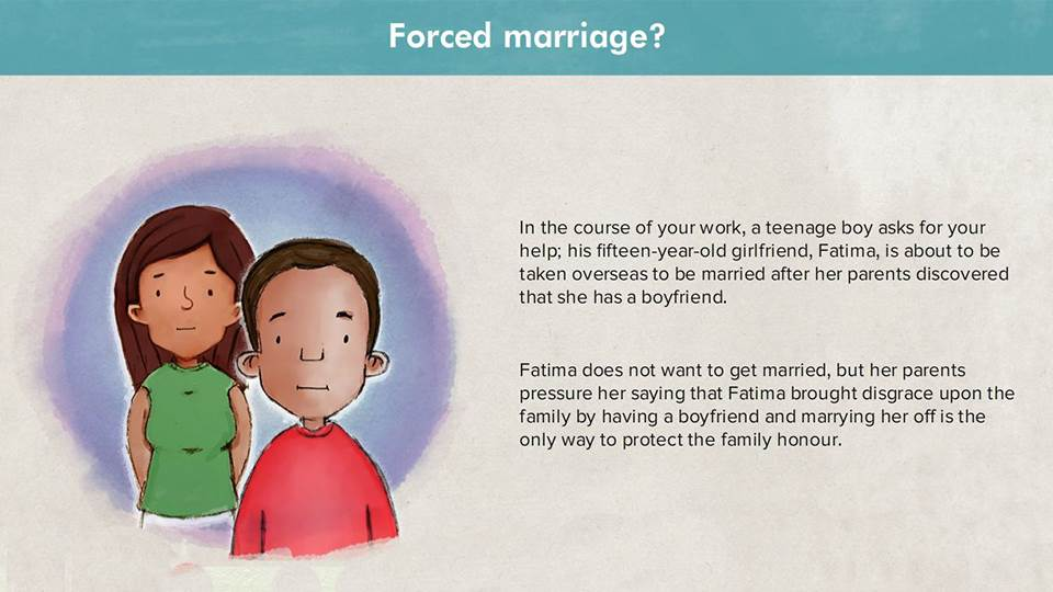 Awareness of Forced Marriage
